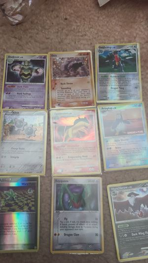 Pokemon holo cards (not firm) for Sale in O'Fallon, MO