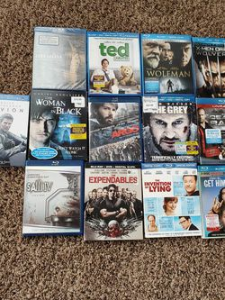 21 Blu -Ray Movies for Sale in Meridian,  ID