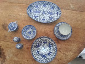 Antique Blue Phoenix China for Sale in Taylors, SC