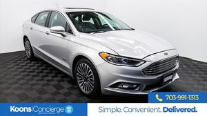 2017 Ford Fusion Energi for Sale in Sterling, VA