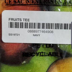 Supreme Fruit Tee Medium Navy SS19 for Sale in Santa Ana, CA