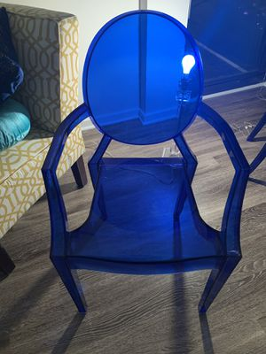 Art Deco Acrylic Chair for Sale in Silver Spring, MD