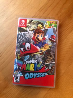 Super Mario Odyssey for Nintendo Switch for Sale in Washington, DC