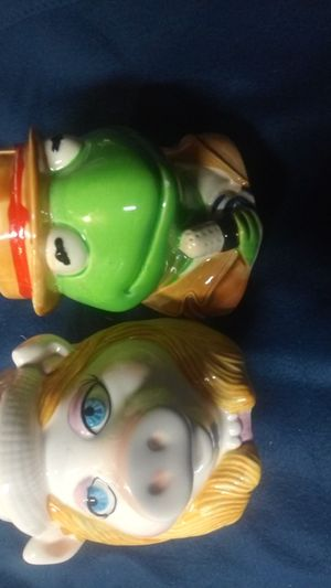 Kermit the Frog and Miss Piggy Sigma Tastesetter Coffee Mugs for Sale in Coffeyville, KS