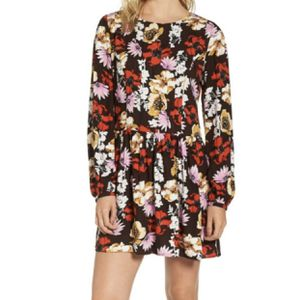 Nordstrom | Hinge Floral Pintuck Midi Dress- SZ S for Sale in Las Vegas, NV