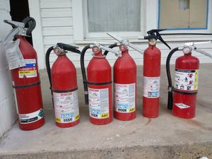 Used fire extinguishers for Sale in San Angelo, TX