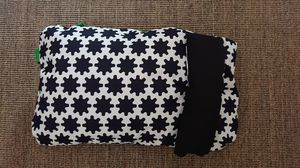 """Dog Cushion 18"""" x 29 1/4""""with black pillow by Ikea for Sale in Arvada, CO"""