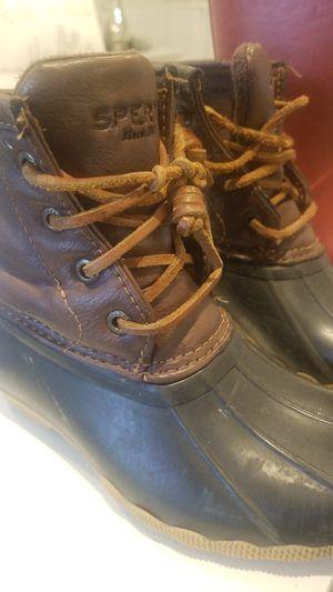 Sperry rain boots for Sale in Auburn, WA