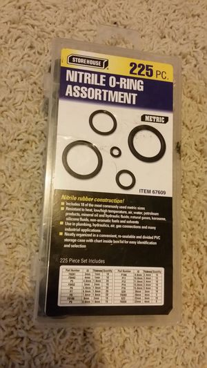 225pc METRIC Nitrile-O-Rings Assortment for Sale in Salinas, CA