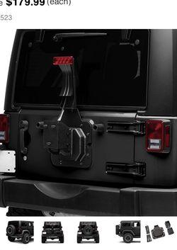 Jeep Wrangler Spare Tire Mount With Brake Light for Sale in Alexandria,  VA