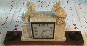 Antique 1940 Art Deco Clock Made in France. for Sale in Tampa, FL