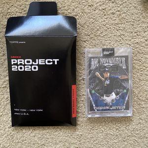 Derek Jeter baseball Cards for Sale in Huntington Beach, CA