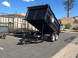 8x10x4 dump trailer for Sale in Escondido, CA