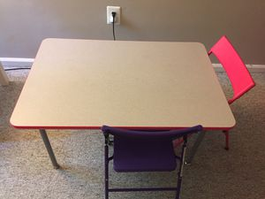 Two tables and a toy drawer for Sale in Potomac, MD