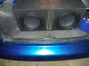 Two 12in Alpine R series DVC in vented B box for Sale in Milford, DE