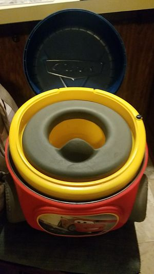 Cars Potty & Placeable toilet Seat for potty training for Sale in Jacksonville, NC