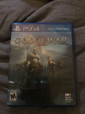 God of war ps4 for Sale in Fort McDowell, AZ