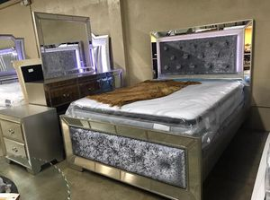 Brand new queen size bedroom set $1349.financing available no credit needed for Sale in Hialeah, FL