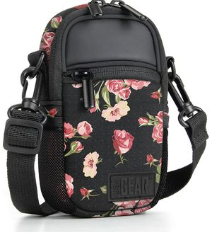 USA GEAR Compact Camera Case (Floral) Point and Shoot Camera Bag with Accessory Pockets, Rain Cover and Shoulder Strap - Compatible with Sony CyberSh for Sale in Redlands, CA