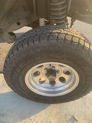 Jeep wangler wheels and tire for Sale in Bakersfield, CA