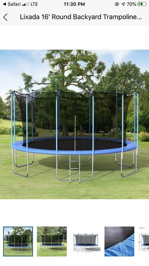 16 foot Trampoline for Sale in Springfield, MA