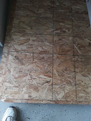 Half-inch OSB also have one inch tongue and groove for Sale in Santa Clara, CA