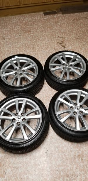 """Lexus 18"""" rims with tires staggered for Sale in Pompano Beach, FL"""
