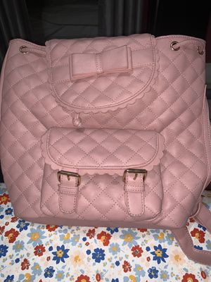 """Blush Pink """"Quilt"""" textured Backpack for Sale in Los Angeles, CA"""