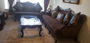 Sofa, Coffee Table, Rug, Tv Stand, Curtains for Sale in Orlando, FL