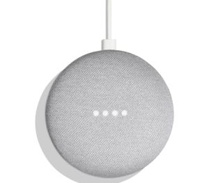 Google Home Mini Home Smart Speaker with Google Assistant + Chromecast, Chalk for Sale in Houston, TX