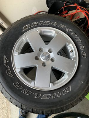Jeep Wrangler Unlimited Wheels & Tires for Sale in St. Peters, MO