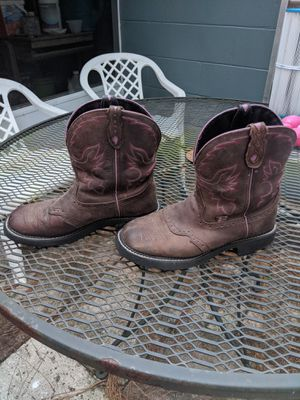 Cowgirl boots size 9 1/2 for Sale in Spring Hill, FL