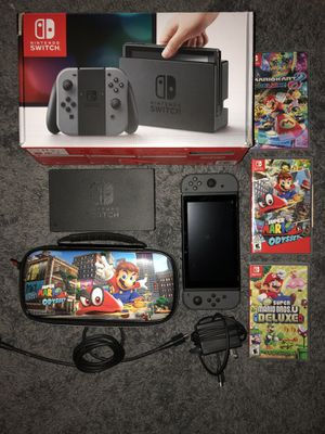 Nintendo Switch with games and accessories for Sale in Northfield, OH