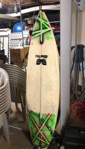 5 foot 11 eletic surfboard for Sale in Yorba Linda, CA