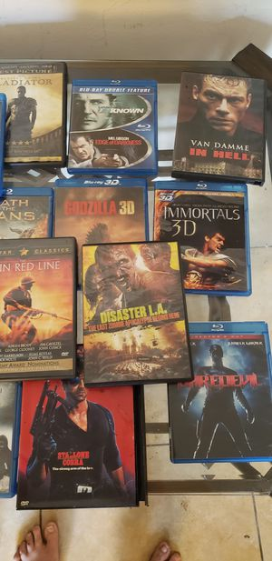 Blue ray movies for Sale in Belleair, FL