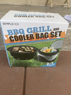 BBQ grill and cooler for Sale in Hayward, CA