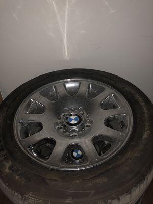 "16"" Chrome (Oem) BMW rims/tires for Sale in Nashville, TN"
