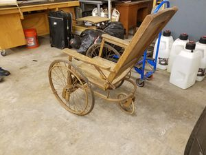 Cool antique wheel chair for Sale in Seattle, WA