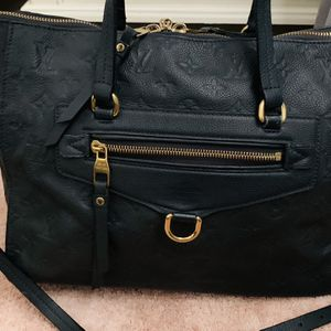 LOUIS VUITTON Bleu Infini Monogram Empreinte Leather Lumineuse PM Bag for Sale in Pompano Beach, FL