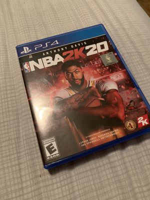 NBA 2k20 - PS4 for Sale in Clermont, FL