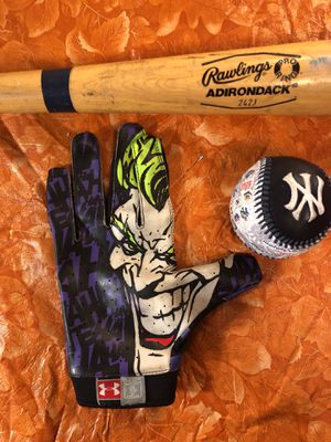 Baseball Bat - Ball - Glove $20 Or Best Offer for Sale in Moreno Valley, CA