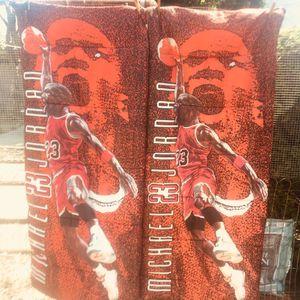 Vintage 90's Chicago Bulls Michael Jordan Sleeping Bag for Sale in Philadelphia, PA