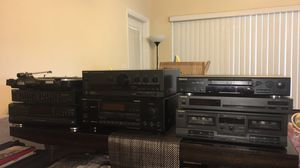Stereo system + DVD player for Sale in Fort Lauderdale, FL