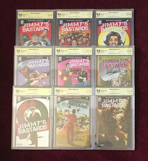 Jimmy's Bastards sigbed and graded comic book lot for Sale in Fort Washington, MD