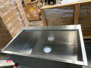 Undercounter kitchen stainless steel kitchen sink for Sale in Houston, TX