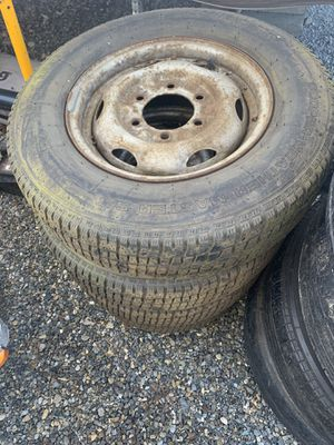 1992 Nissan hardbody wheels and tires for Sale in Tacoma, WA