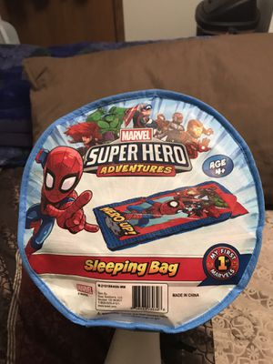 Marvels Super Hero Adventures Spider-Man Sleeping Bag for Sale in Sioux Falls, SD