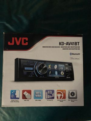 JVC stereo radio KD-AV41BT Monitor with DVD receiver for Sale in Miami Beach, FL