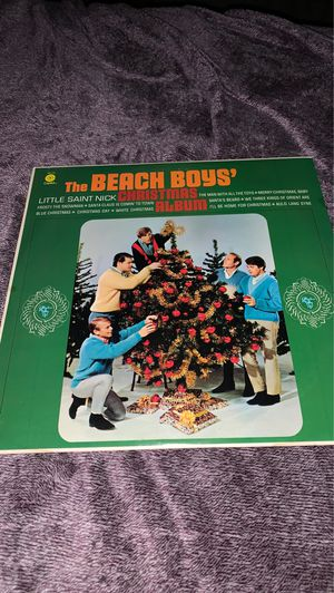 Beach boys Christmas Record for Sale in Lakeland, FL