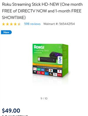Roku stick for Sale in Tampa, FL
